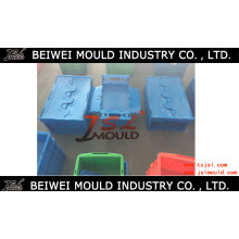 Storage Heavy Duty Attached Top Container Plastic Mould