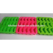 Novo produto Profissional Grade Alimentos Ice Mould Maker Car forma Silicone Ice moldes para venda / Silicone Ice Cube Bandeja
