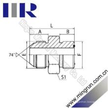 Jic Mâle 74 Adaptateur Hydraulique Mâle Cône / Orfs (1JF)