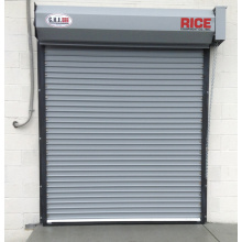 Steel fireproof shutter turbine rapid door