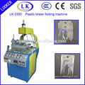 new design blister and clamshell edge bending machine
