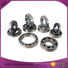 Roulement à billes miniature Chrome Steel 6 * 19 * 6mm 626zz pour porte coulissante