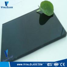 Azul / Verde / bronce Vidrio laminado teñido (LM)