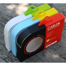 Pacote comumente usado do cabo do USB do telefone móvel