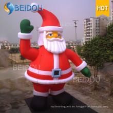 Decoración de Navidad Santa inflable gigante Navidad Santa inflable