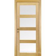 4 Plattenschüttler abgeschrägte Glas Innentüren, Holz abgeschrägte Glas Innentüren