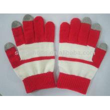 Strick-Touchscreen-Handschuhe