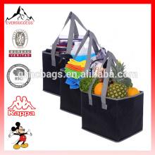 Juego de bolsos plegables para compras de gran capacidad con fondo reforzado