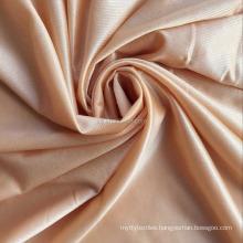 Warp knit soft hand feel high compression 70 nylon 30 spandex shiny fabric shapewear fabric