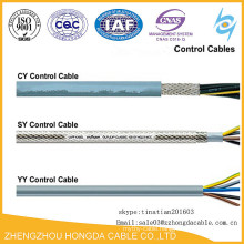 Control Flexible Cable YY/CY/SY PVC Cover LSZH Cable specification
