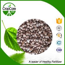 Fertilisant soluble dans l'eau compostable granulaire NPK 17-5-23 + Te