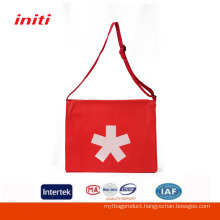 INITI Quality Customized Factory Sale Shoulder Bag With Water Bottle Holder