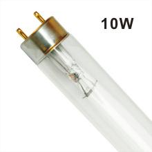 lâmpada ultravioleta T8 15W lâmpada germicida uv bórica Tubo de vidro UVC F15T8 Lâmpada esterilizante de ozônio
