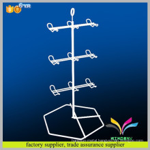 New design fashion double sides countertop metal hook for jewelry