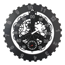 Reloj de pared Cool Back Gear de 18 pulgadas