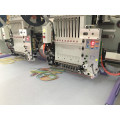 Double head 9 head Flat and T-shirt embroidery machine computerized embroidery machine