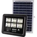 instrucciones de control remoto de luz de inundación solar