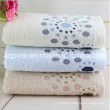 Custom Cotton Towel with Embroidered Logo (AQ-005)