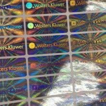 Customized Laser Marking Hologram Adhesive Sticker Paper Label Printing