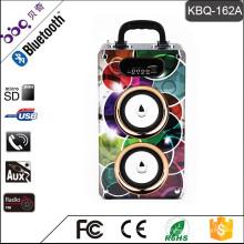Haut-parleur de BBQ 20W 2000mAh 2.1 home cinéma Radio FM USB / SD / AUX IN bluetooth haut-parleur
