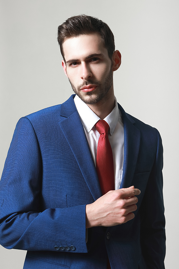 MEN'S FASHION BRIGHT COLOR SUITS