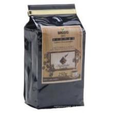 250g 500g saco de embalagem de café / folha De Alumínio saco De embalagem De grãos De Café / saco de café de reforço lateral com Válvula