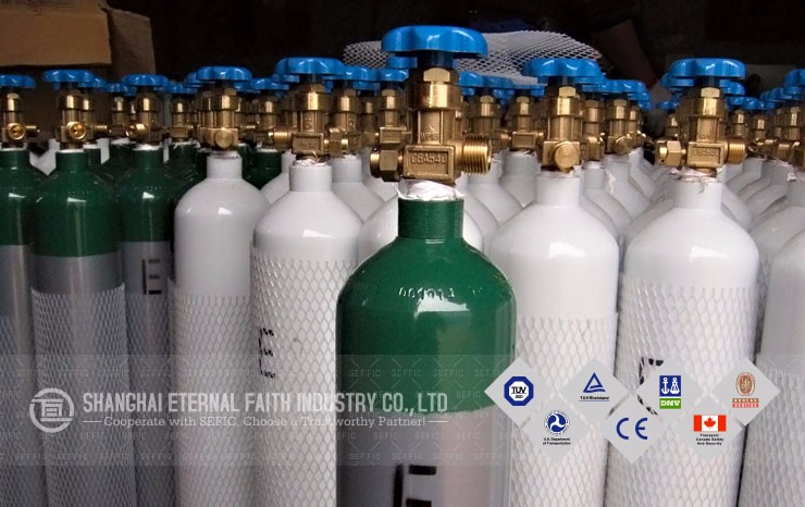 Export To Brazil High Quality Edible Co2 Gas Cylinder For Drinking