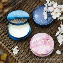 Diy Scented Soy Wax Candles Making Kit Supplies in Tins Scented Candles Aromatherapy Candles