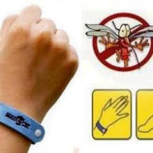 Adjustable 100% Citronella Micro Fiber Mosquito Repellent Bracelet