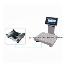 Plataforma eletrônica de aço inoxidável Balança de pesagem Série Cw