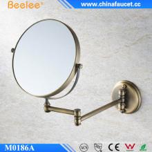 6 дюймов латунное нержавеющее декоративное выдвижное настенное компактное зеркало