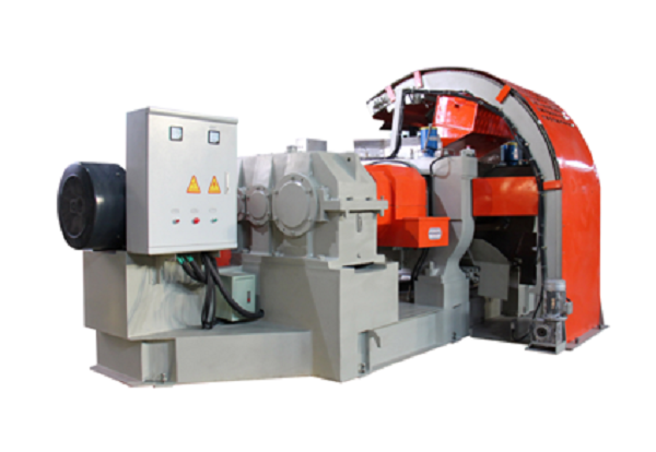 Rubber Plastic Semi-automatic Crusher Mill Machine1