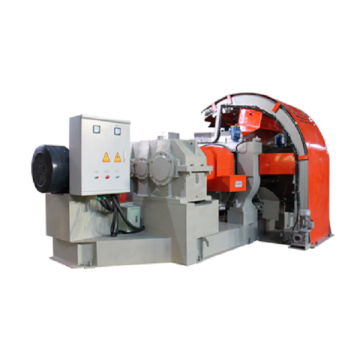 Gummi Plast Semi-Automatisk Crusher Mill Machine