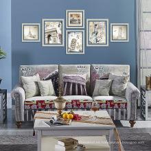 Diseño moderno de muebles de sala de estar conjunto de sofá