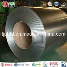 Bobina de acero galvanizada Dx51d Z100 para el material de construcción