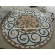 Stone Mosaic Marble Mosaic Pattern Floor Tile (ST116)