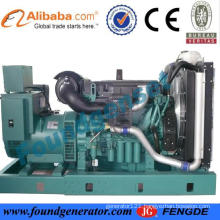 80KW Volvo generator with diesel power with CE approved