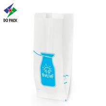 Bolsa de papel kraft branco para cup cake