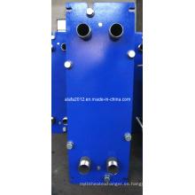 Enfriador de aceite marino, intercambiador de calor de placas, intercambiador de calor de placas de titanio (JQ6B)