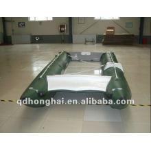 CE HH-P430 alta velocidade barco inflável catamarã