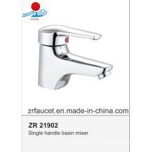New Design High Quality Brass Body Zinc Hanlde Basin Faucet