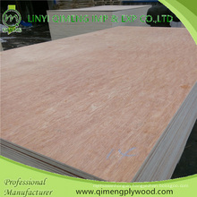 Poplar and Hardwood Core 12mm Commercial Plywood From Linyi