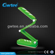 Table pliante en plastique serpentin / lampe de bureau GT-8809