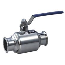 Válvulas de esfera sanitárias de aço inoxidável 304 e 316