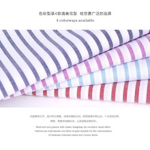 shiny 100% cotton yarn dyed stripe and check design shirting fabric