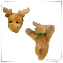 Angefüllter Plüsch-Spielzeug-Vieh-Kühlraum-Magnet für Förderung