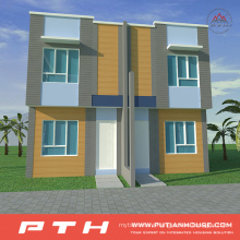 China Manufacture Supplier Light Steel Villa as Prefabricated House