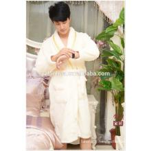 Peignoir de longueur genou de 100 % polyester coton couples hôtel From China