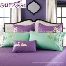 100% tela de bambú cinco estrellas de calidad de Hotel de cama conjunto muestras disponibles