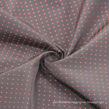 Polyester Memory Fabric with DOT Dobby for Men′s Jacket